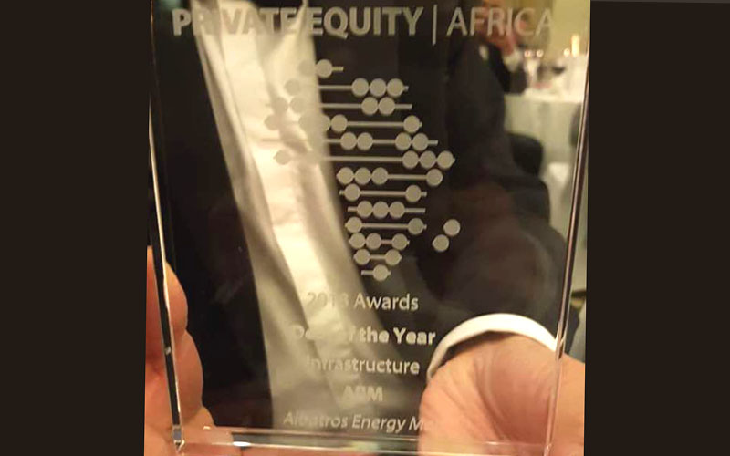 Albatros Energy Mali wins another 'Deal of the Year' award