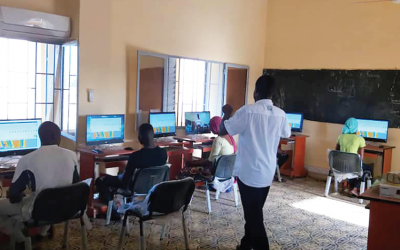 Le projet de technologie informatique dans la communauté de Hawa-Dembaya