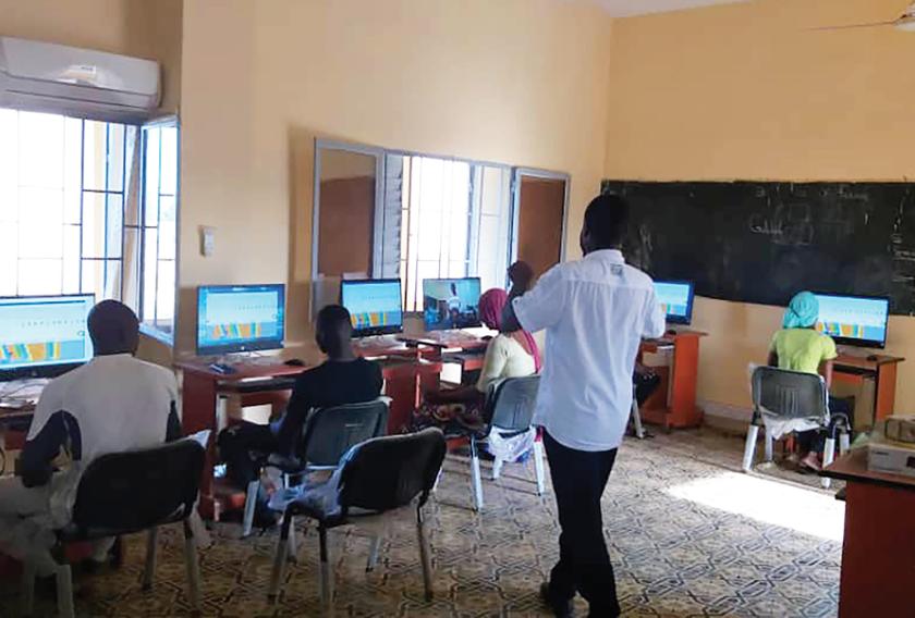 The Computer Science Technology Project Hawa-Dembaya, Mali
