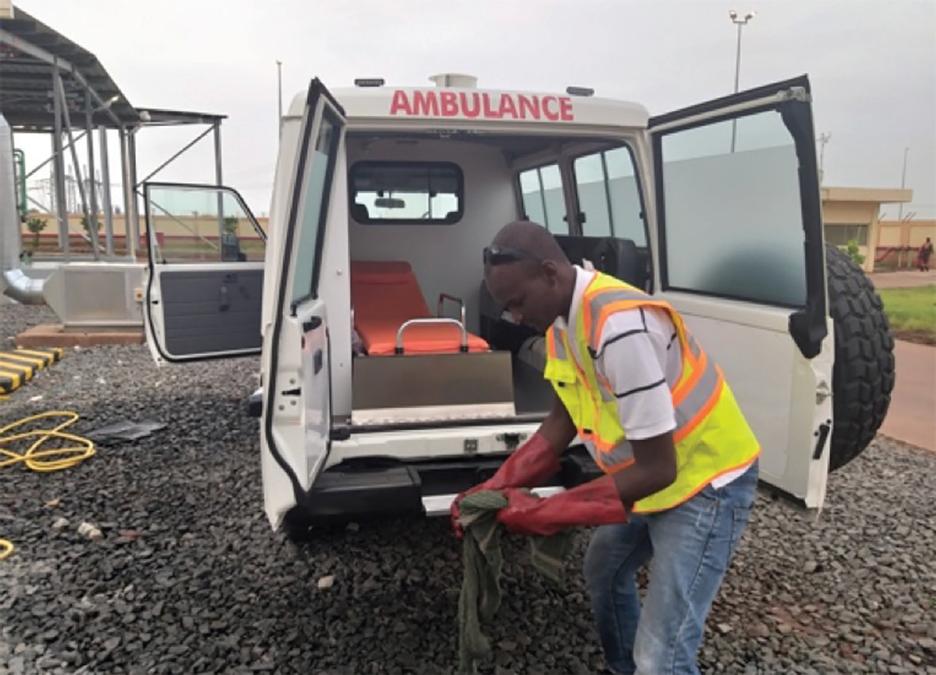 A Free Ambulance Service for the People of Hawa-Dembaya