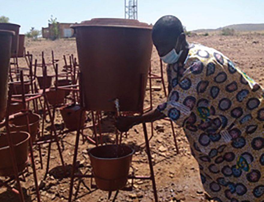 COVID-19: Hand Washing Kits to Hawa-Dembaya